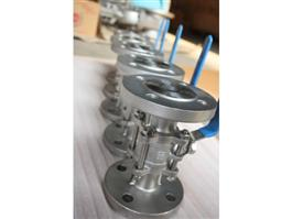 DIN 3PC Flange Floating Ball Valve