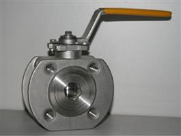 DIN Wafer Type Ball Valve with ISO5211 Mounting Pad