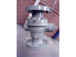 API 2PC Flanged Trunnion Mounted Ball Valve
