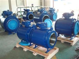 API 3PC Flanged Trunnion Mounted Ball Valve