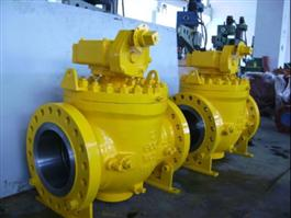 DIN Top Entry Ball Valve