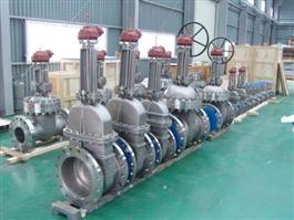 DIN Flanged Cast Steel Gate Valve