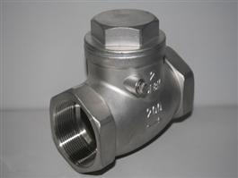 Threaded Swing Type Check Valve